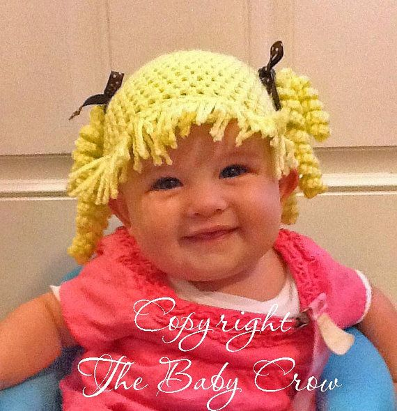 Crochet Baby Hat Pattern Size 0 mos to 10 yrs by TheBabyCrow ...