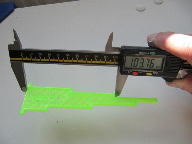 Accurate calibration/dimension test by lukeskymuh - Thingiverse 3D