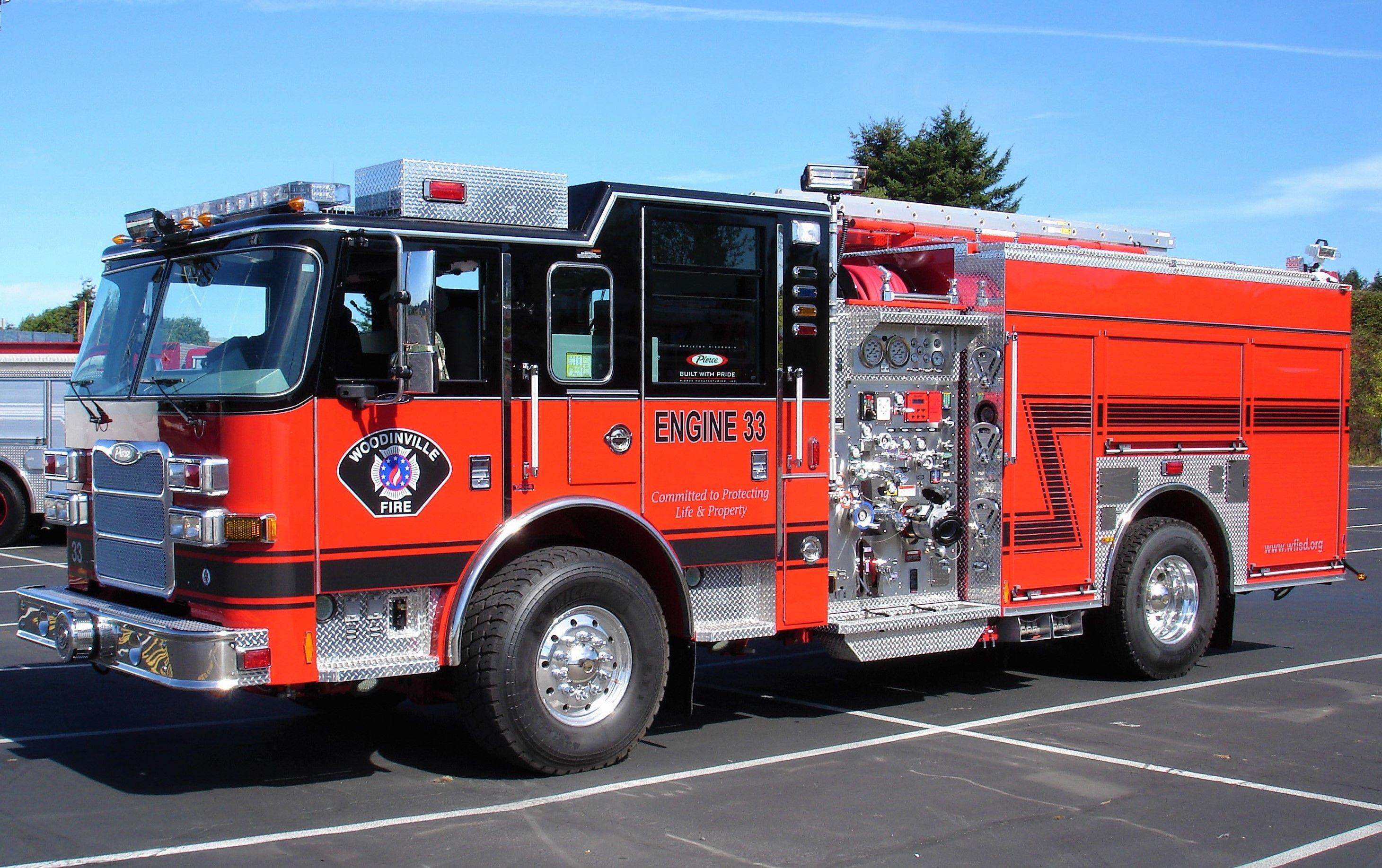Woodinville Fire Rescue Engine 33 2012 Pierce Arrow Xt 1750 500