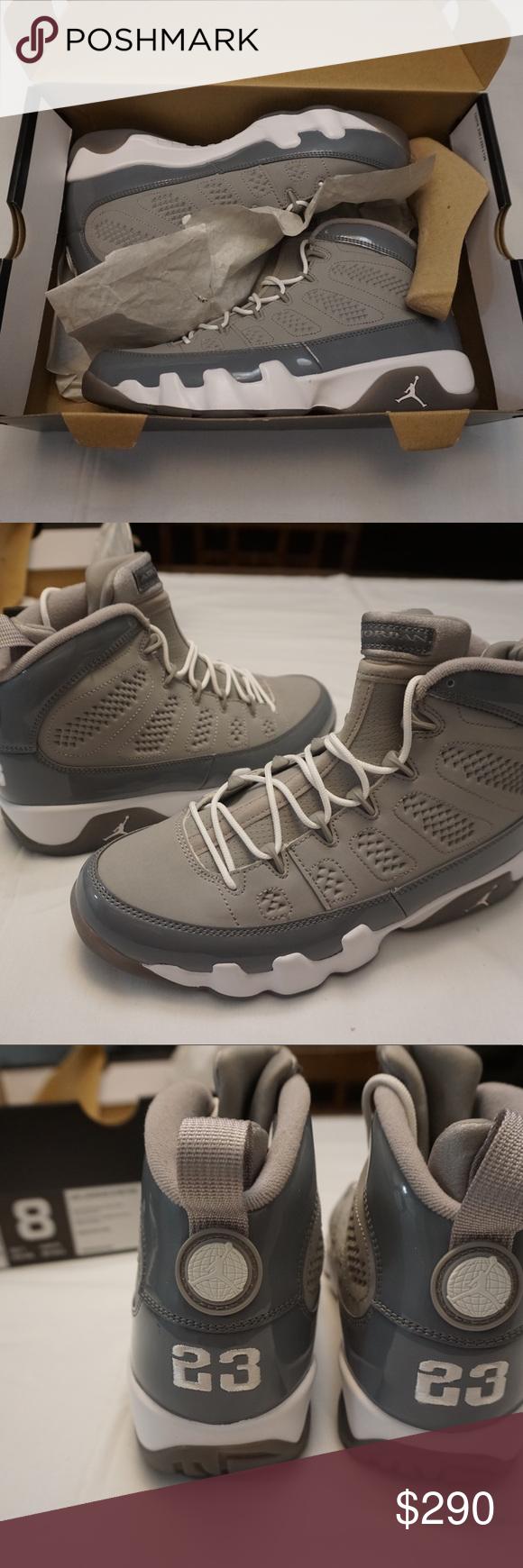 cheaper 04d67 0daca Jordan 9 Retro Cool Grey Deadstock 2012 Release. Air Jordan 9 Retro Cool  Grey Deadstock 2012 Release. (Unworn with original box included) Jordan  Shoes ...