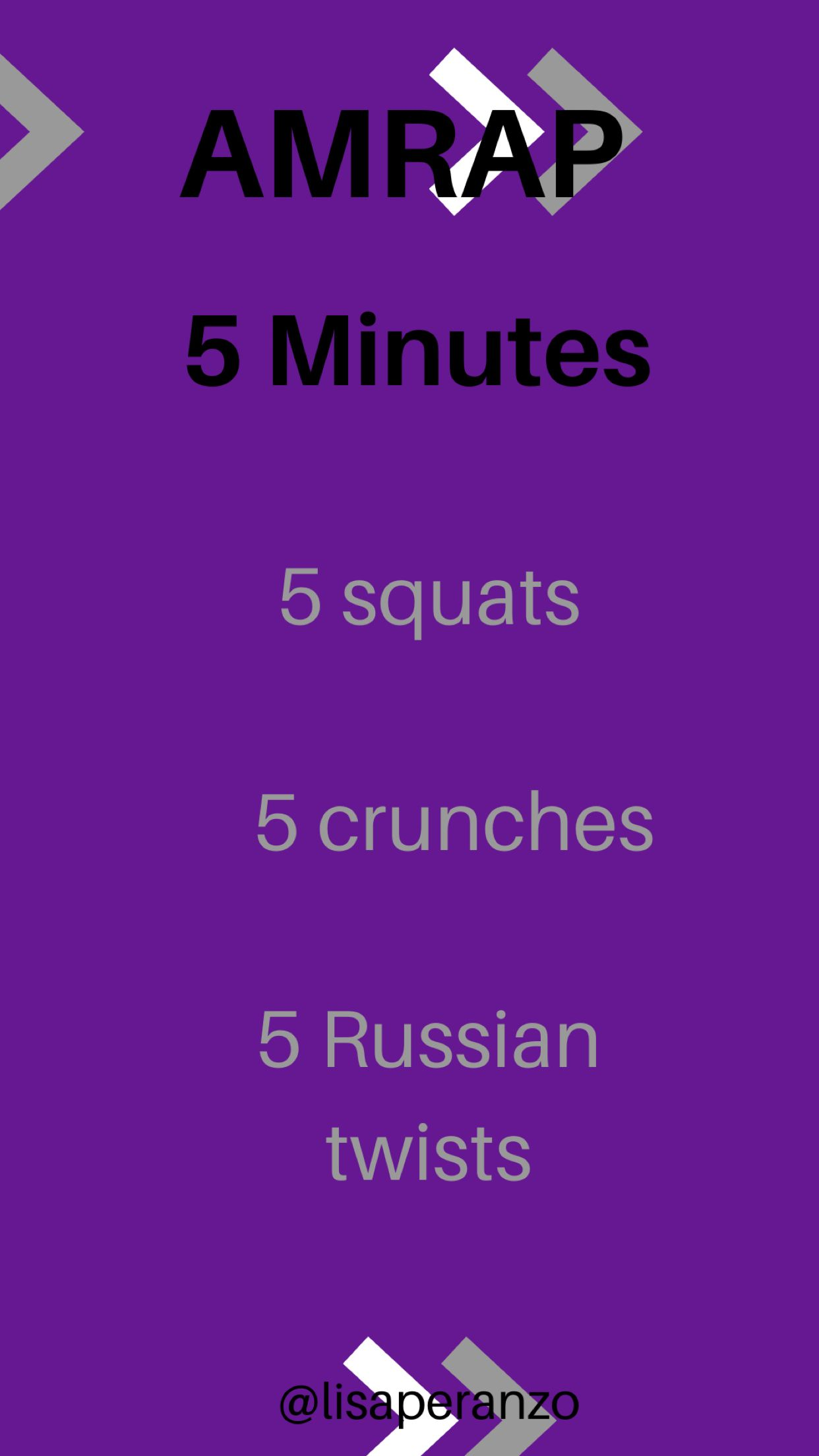 Grab Your Workouts!