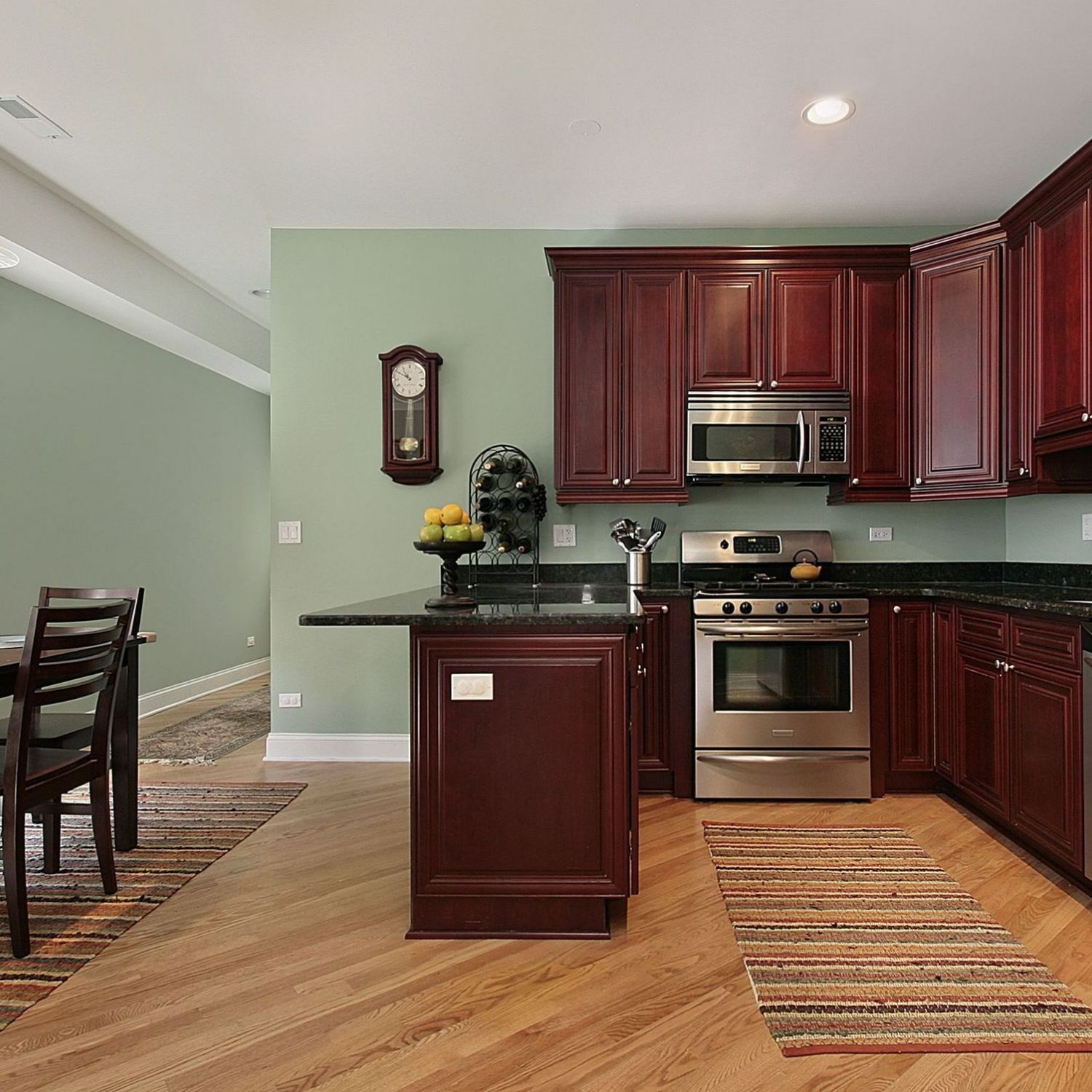 38 what the in crowd won t tell you about kitchen paint ideas eclarehome cherry cabinets on t kitchen ideas id=74973