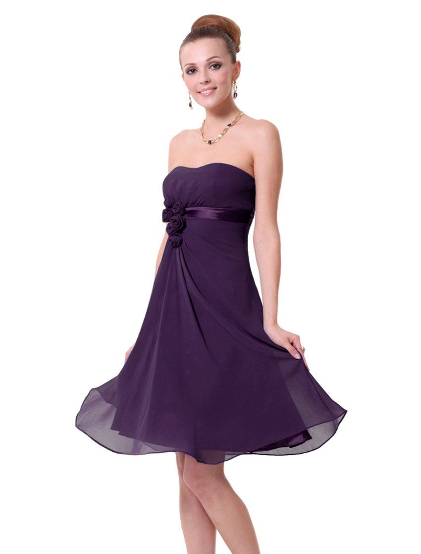HE03538PP10 Purple 8US Ever Pretty Beach Dresses For Wedding 03538