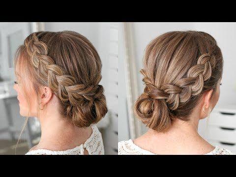Double Dutch Braids Updo   Missy Sue - Hair Beauty