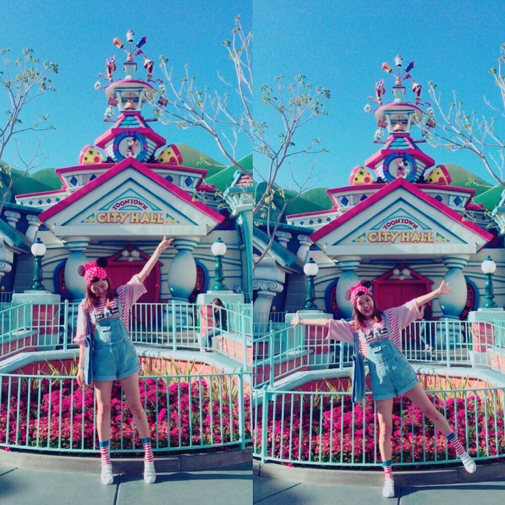 #160415 #LA #Disney  미키가 되고싶었는데 아무리 봐도 윌리고 친구는 처키ㄹㅐ... 망했어 by iam_jiwon