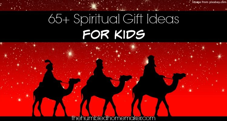 Want to give your children a gift that will nurture their spiritual growth? Check out these spiritual gift ideas for kids!