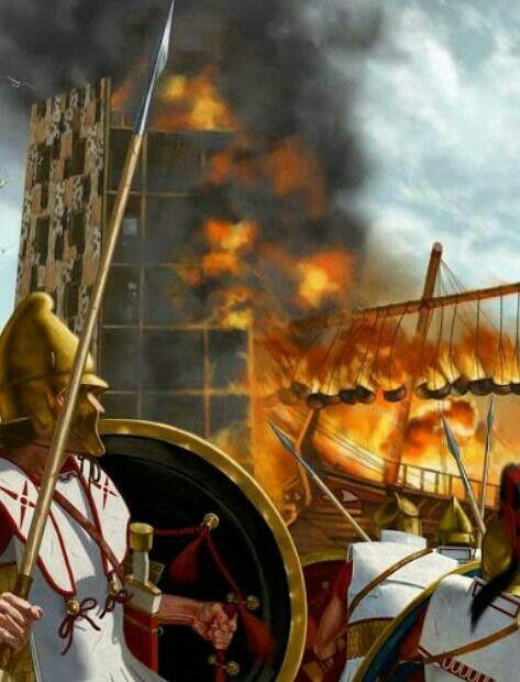 Assedio di Tiro che si opponeva al controllo di Alessandro