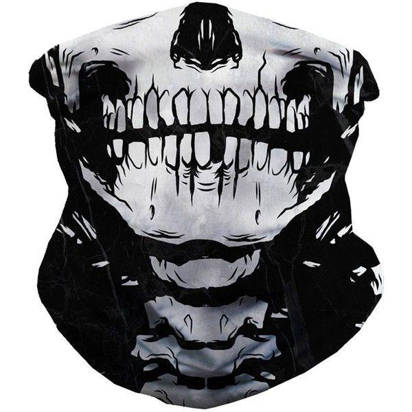 IHeartRaves Skeleton Seamless Rave Mask All Over Print