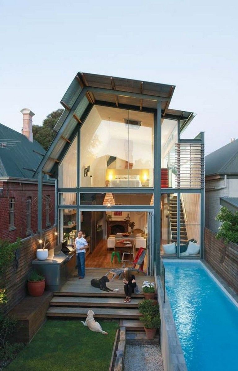 40 Small Home Design With Pool Ideas On A Budget Homedecor Homedesign Homedecorideas Homeremedies Small House Design Tiny House Design Architecture House