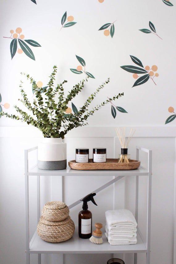 Wand Aufkleber Mandarinen In Grun Mit Bildern Badezimmer Diy