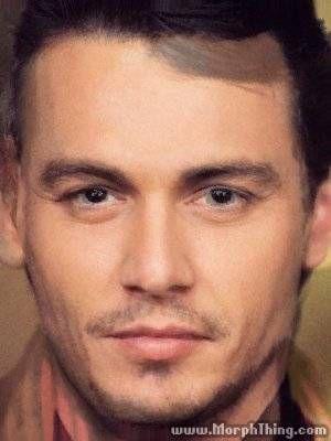 Johnny Depp, James Franco
