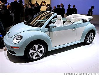 volkswagen convertible powder blue | Best of the L.A. Auto Show - Volkswagen Beetle Final Edition (7 ...