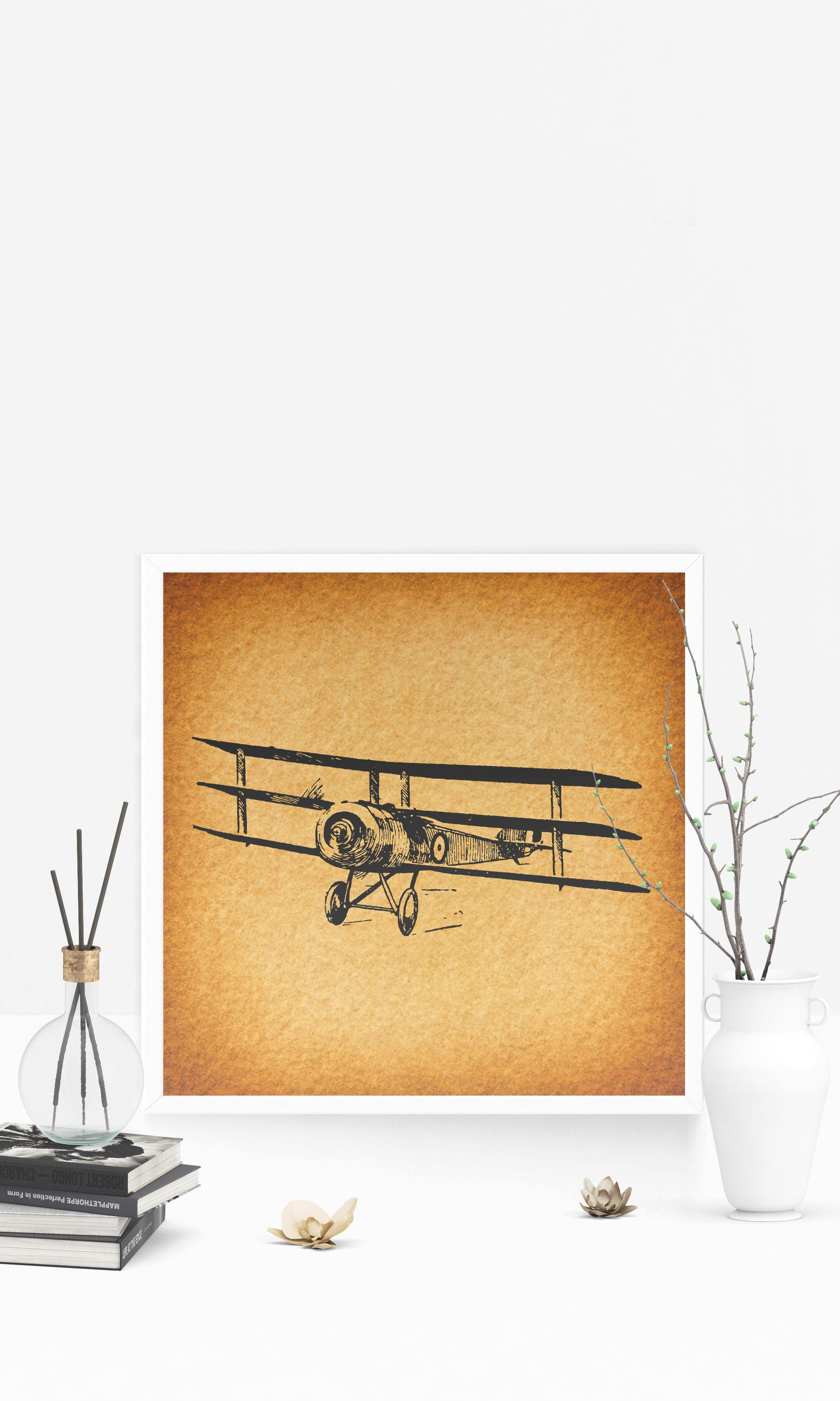 Famous Vintage Aviation Wall Decor Images - Wall Art Collections ...
