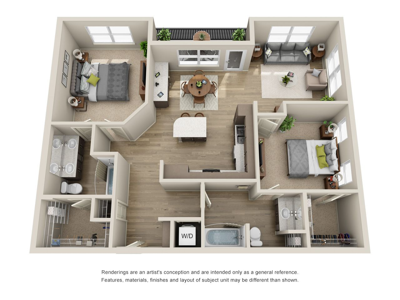 B4 Floor Plan 2x2 1 218 Sq Ft Sims House Design House Layout Plans Sims House