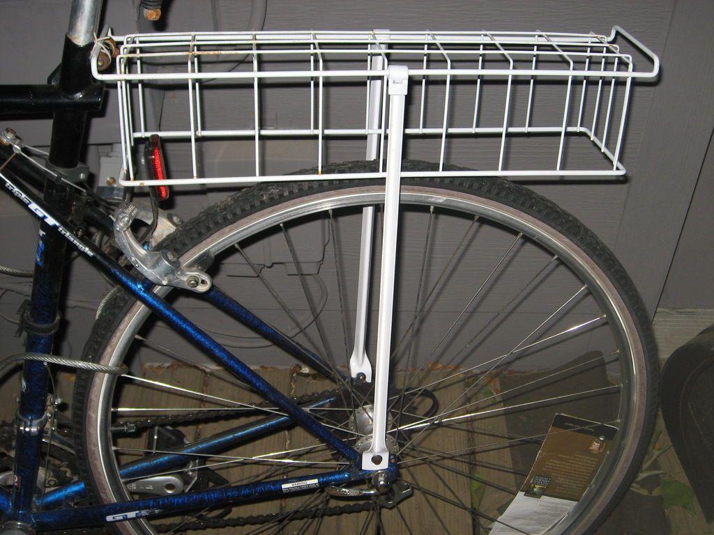 rear bike rack diy bike rack