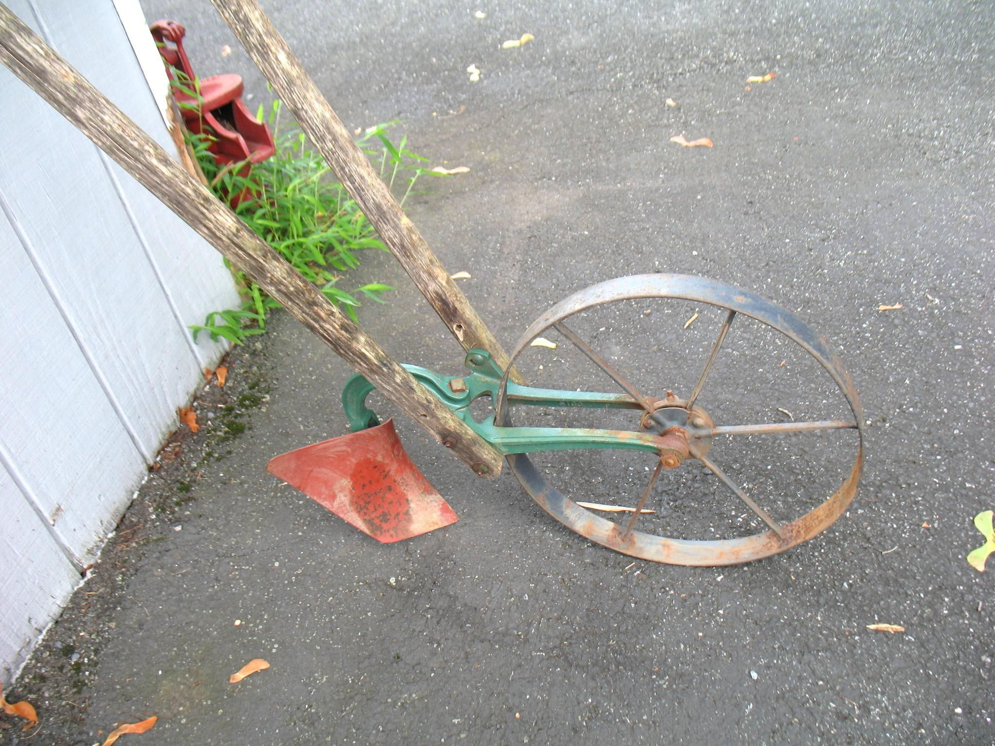 Antique Planet Jr. Push Hoe Or Plow Cultivator Agriculture Tool