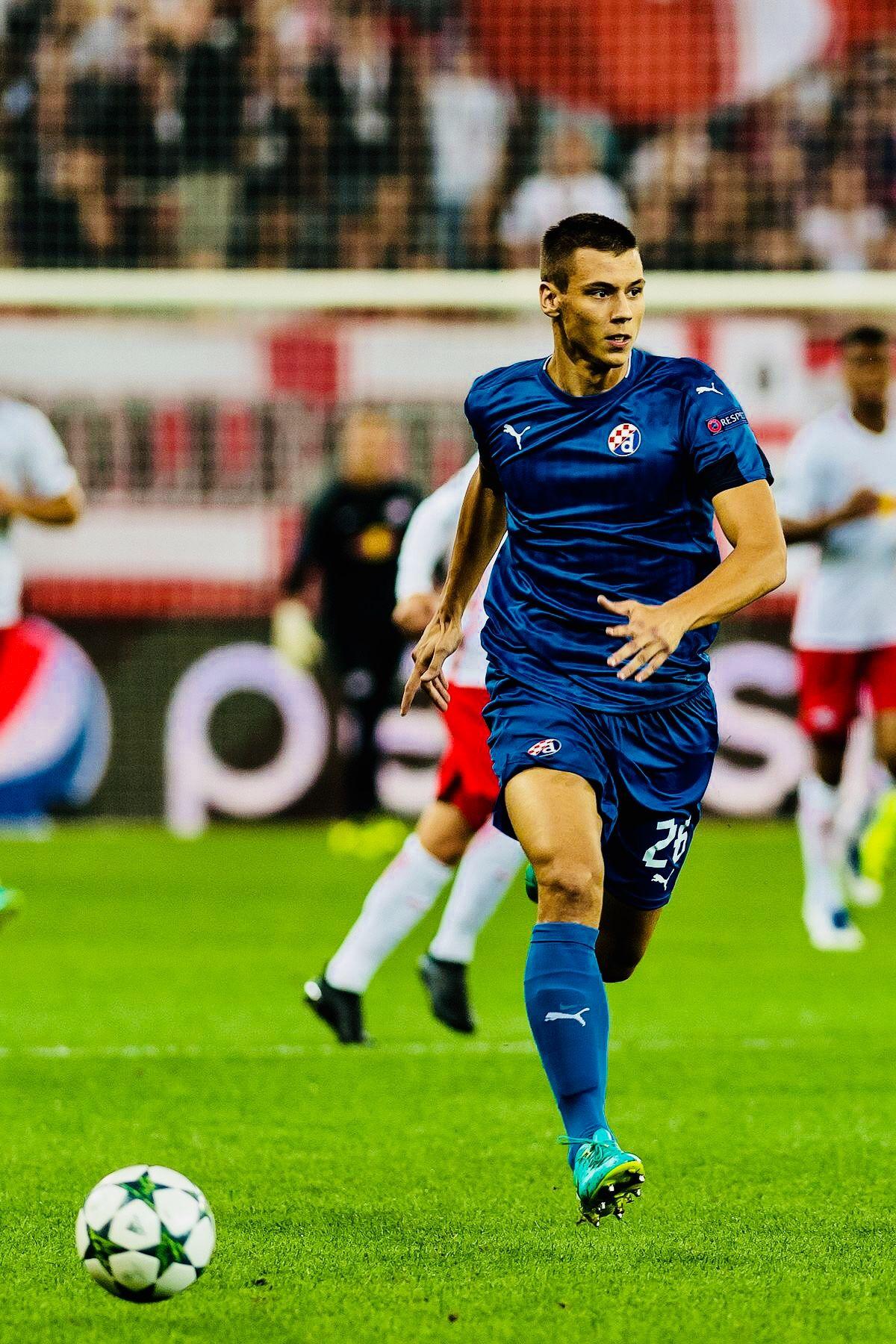 Filip Benkovic Dinamo Zagreb Croatia