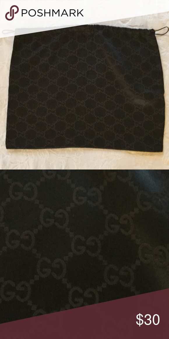 """Gucci Dust Cover, Medium Gucci Brown Dust Cover, Medium, 14.75"""" by 11.25"""" Gucci Bags"""