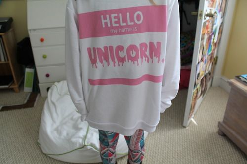 I WANT THIS! HELLO MY NAME IS UNICORN!!!!