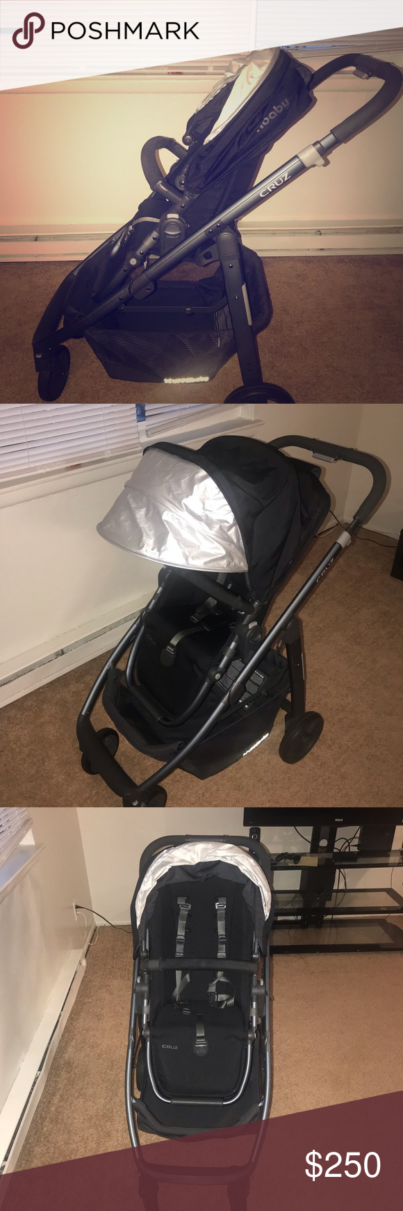 Uppababy Cruz stroller Its very clean, and works perfectly