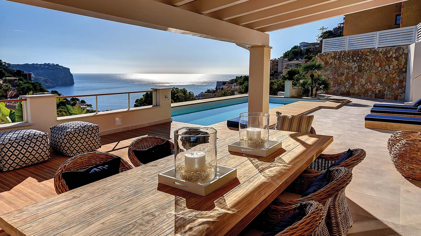 Stylische Villa mit Meerblick Puerto Andratx Only