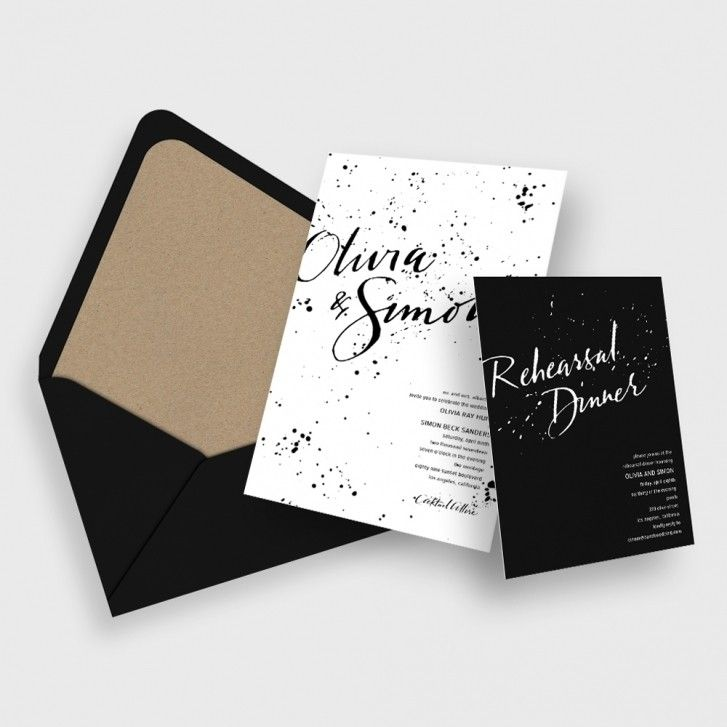 Design My Own Wedding Invitation: Bliss & Bone: Design Your Own
