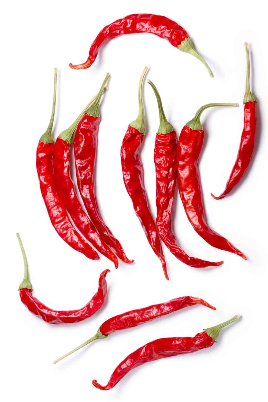 Chile De Arbol Peppers Stuffed Peppers Chili Pepper Hot Sauce Recipe Chili Pepper