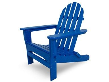Pacific Blue Adirondack Chair What Could Be Better Than