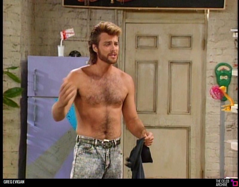 Greg Evigan picture  Sexxxiest Body Shot Navels  Classic