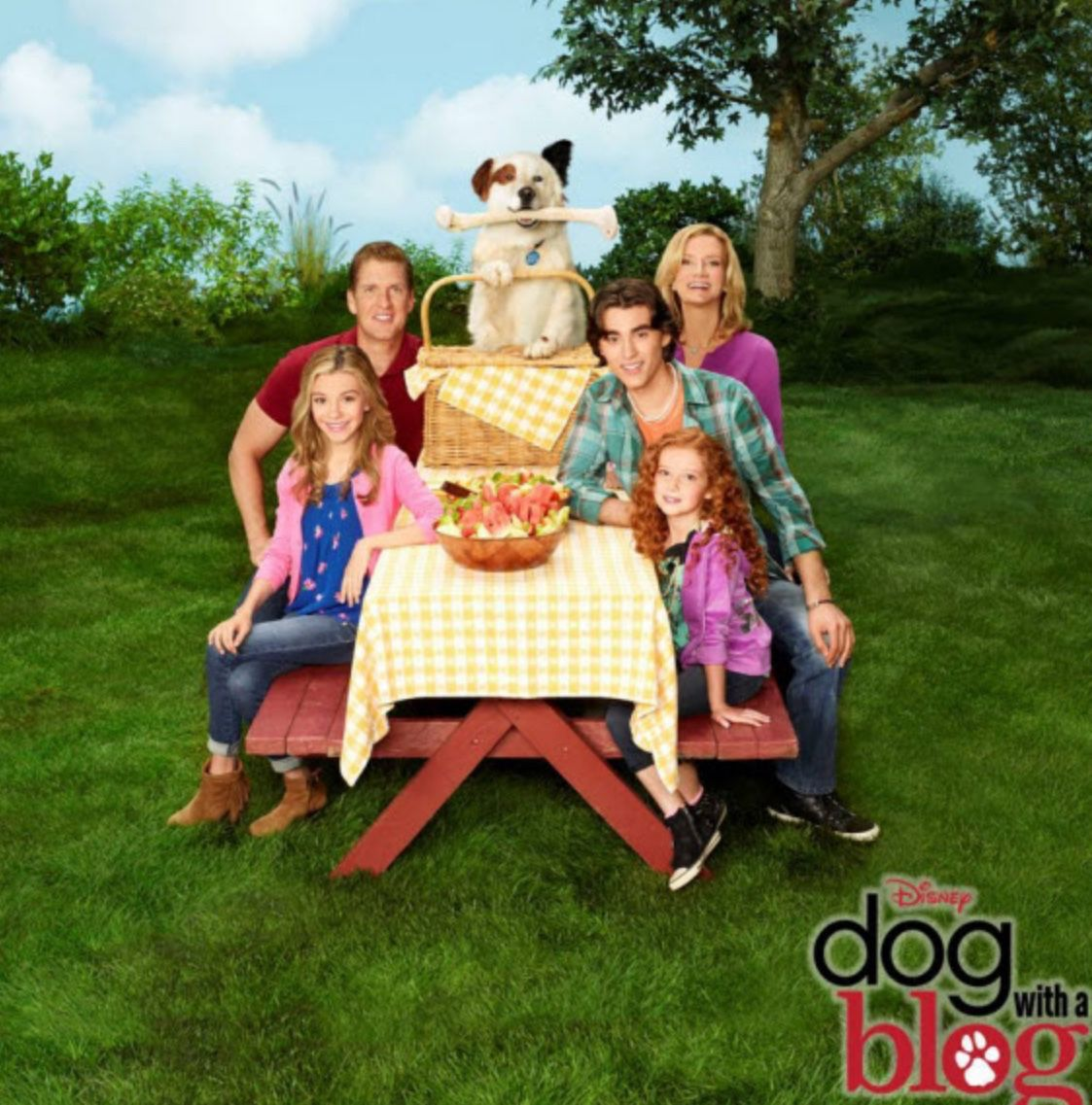Family pic Dog with a blog, Disney channel shows, Disney