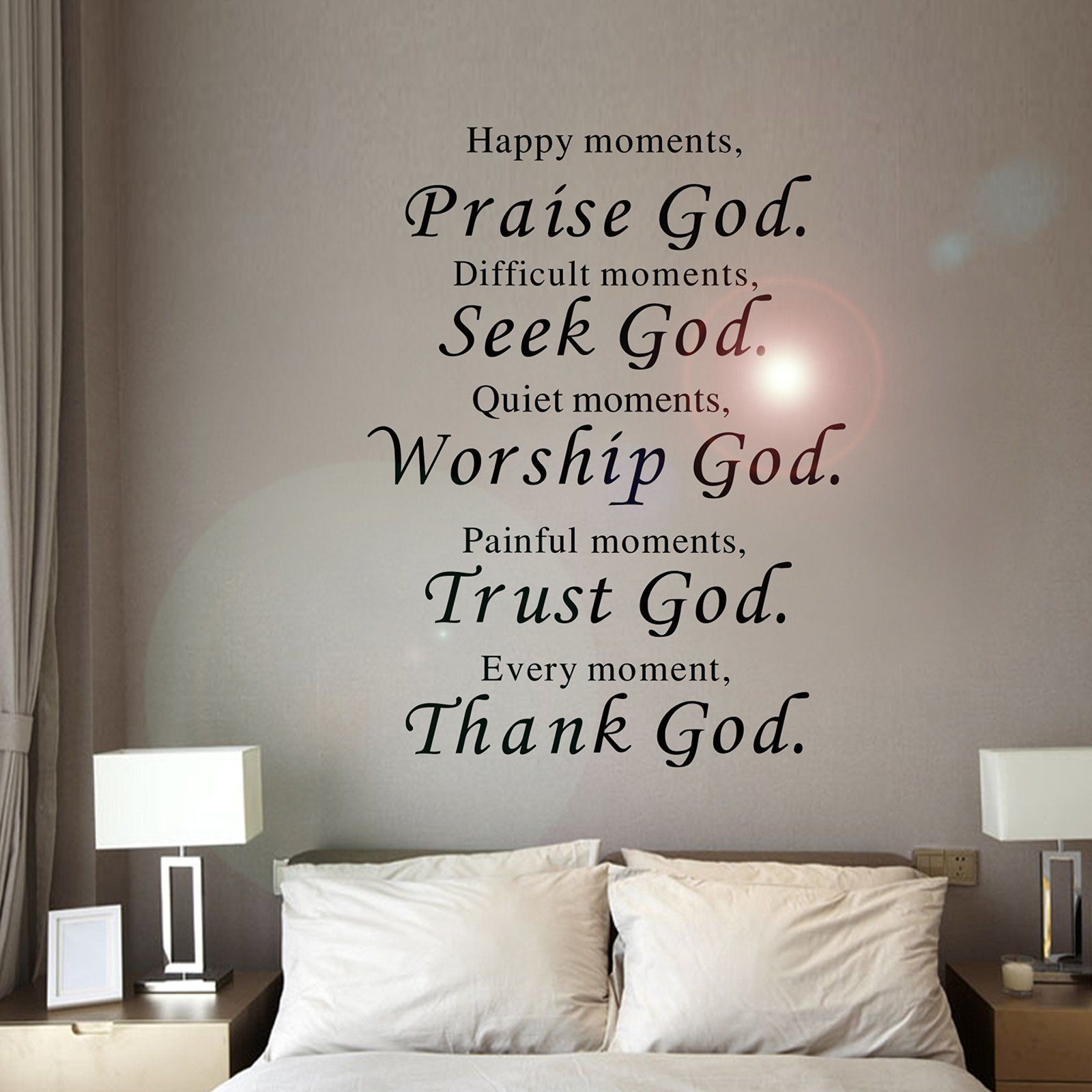 Removable Vinyl Decal Art Mural Home Living Room Decor Quote Wall Sticker Word 986
