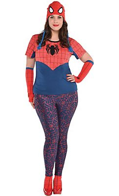 adult spider girl costume plus size - Spider Girl Halloween Costumes