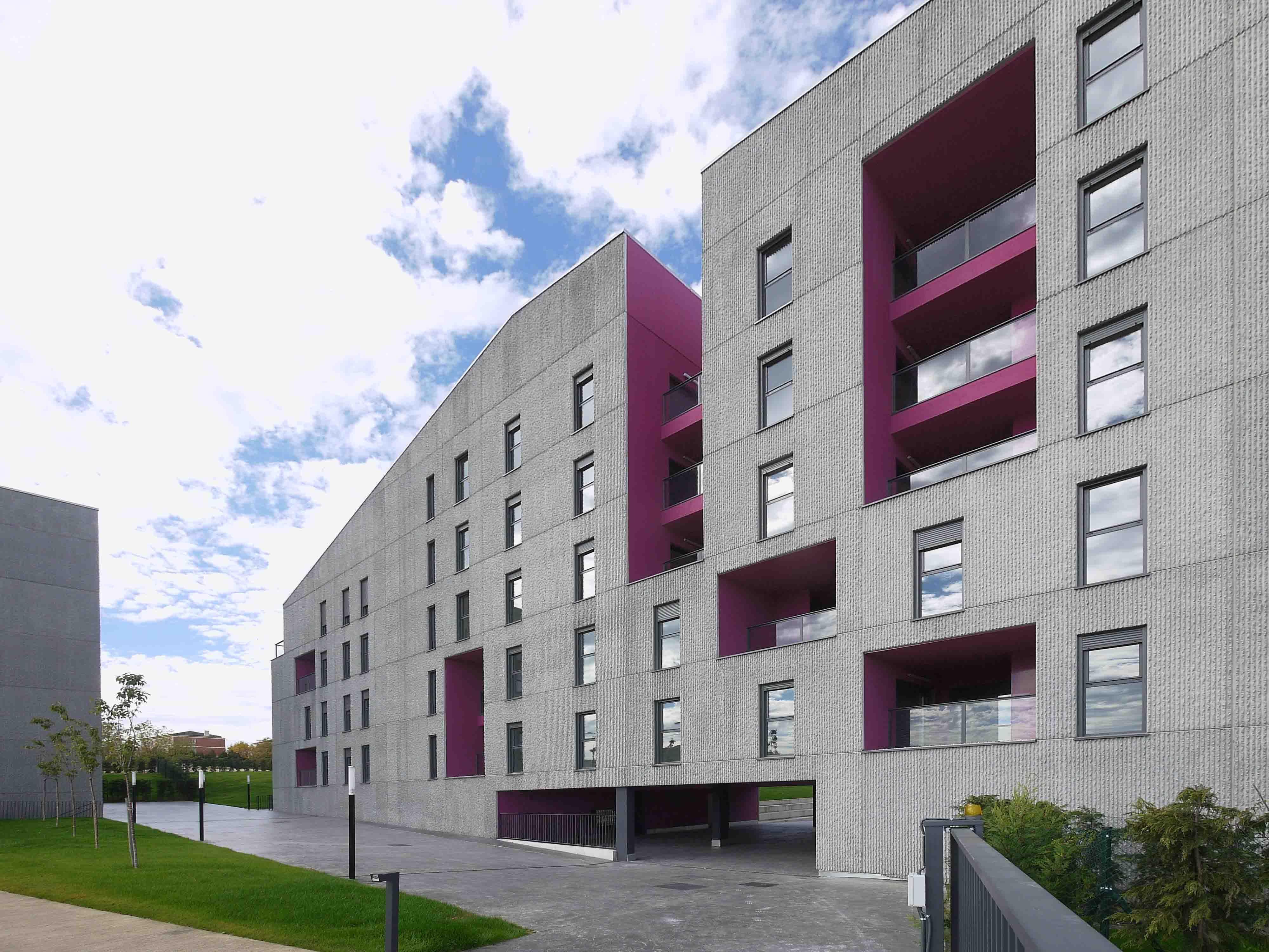 166 viviendas de protecci n oficial en vitoria gasteiz architecture pinterest protecciones - Casas proteccion oficial ...