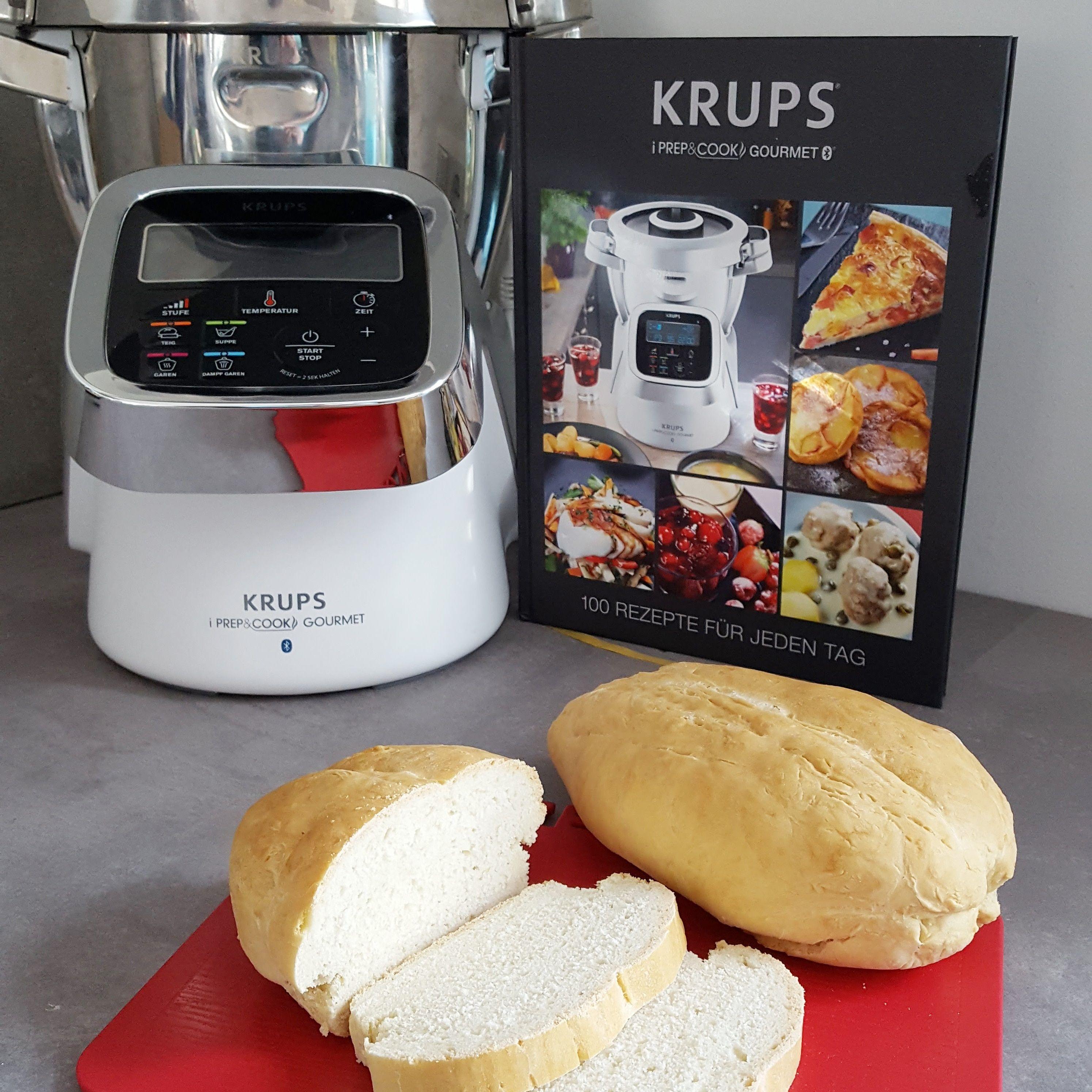 Brot Zubereiten In Der Krups Iprep Cook Gourmet Gourmet Thermomix Rezepte Krups Prep Cook