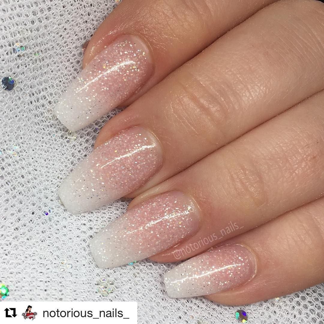Repost @notorious_nails_ ・・・ Perfect #bridalnails using Magpie ...