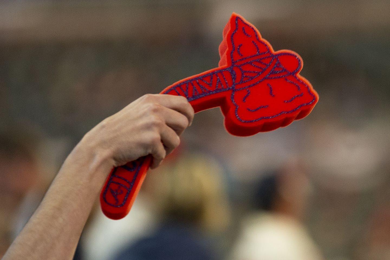 Braves Playoff Loss Was Karma For Not Distributing Foam Tomahawks Say Georgia Gop Leaders Braves Atlanta Tomahawk Chop