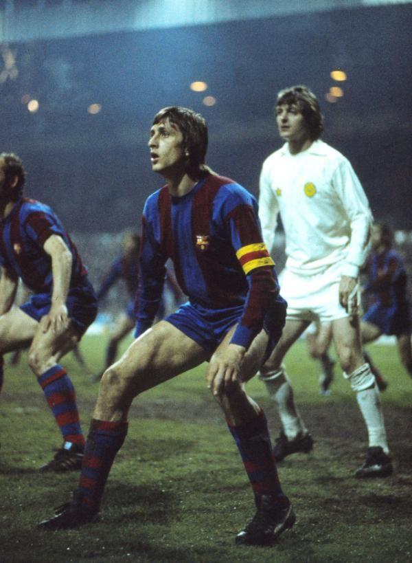 Johan Cruyff vs Leed United, en 1975