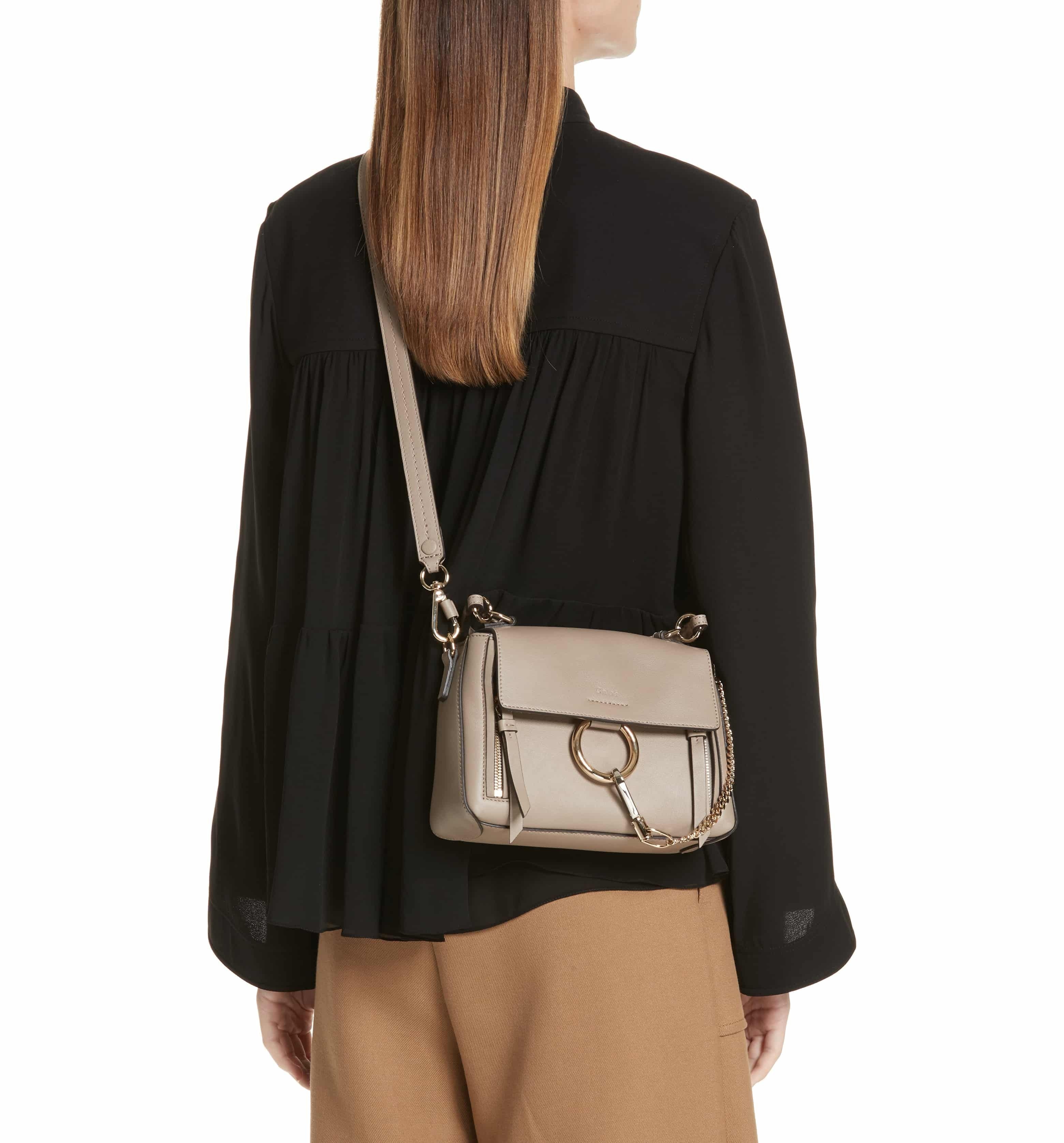 39de557f6b Mini Faye Day Leather Crossbody Bag, Alternate, color, MOTTY GREY ...