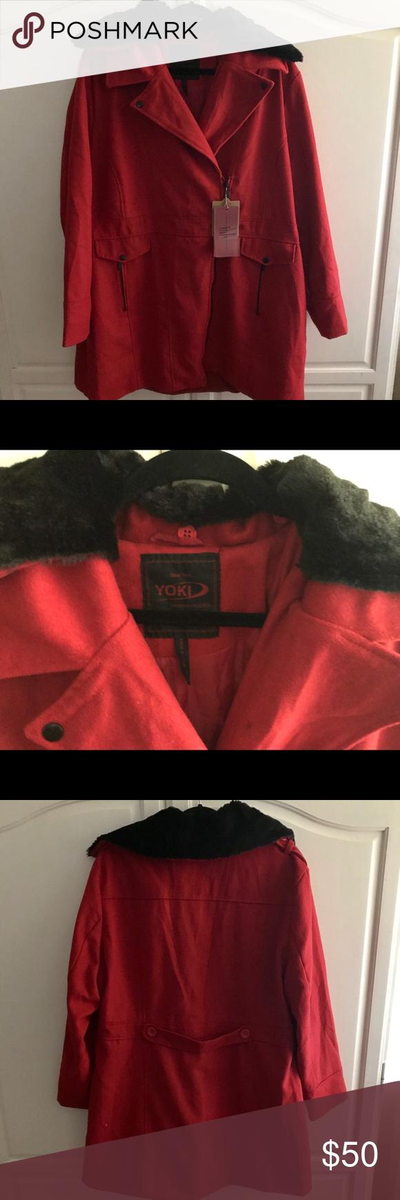 Yoki Outerwear Collection Jacket Yoki Red Jacket Jackets [ 1740 x 580 Pixel ]