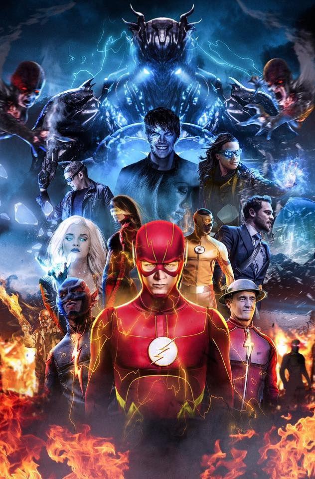 The Flash Season 3   Superheros On Film & T V  in 2019   Flash
