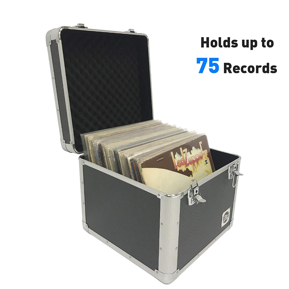 Vinyl Record Album Storage Case This Heavy Duty Case Is Perfect For Holding All Our Vintage Albums In T Album Storage Record Album Storage Vinyl Record Crate