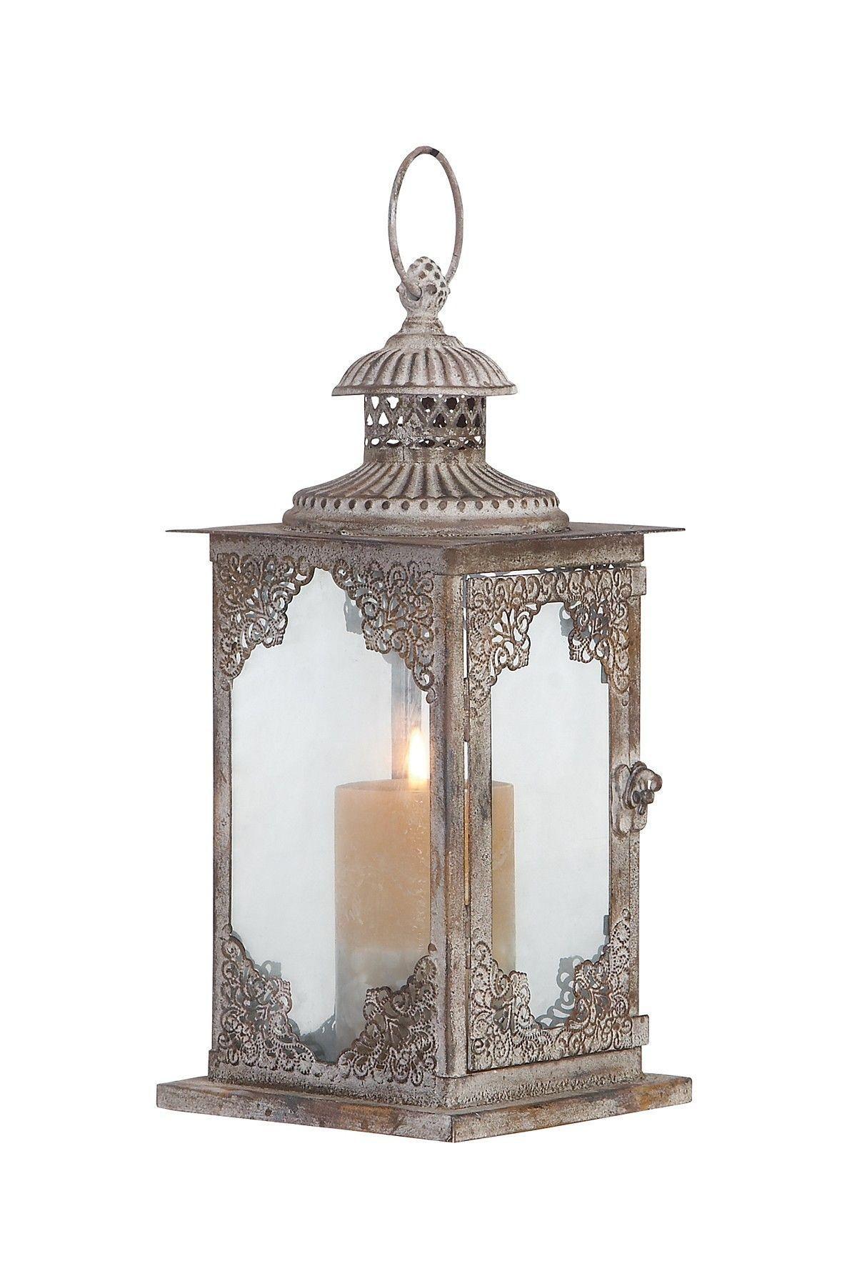 Fresh rustic lantern light fixtures gome metal lanterns candle