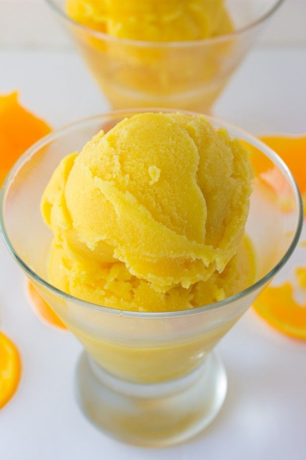 Looking for a dairy free frozen treat to beat the heat this well your in luck! Today were making orange sherbert and it's all natural!!!