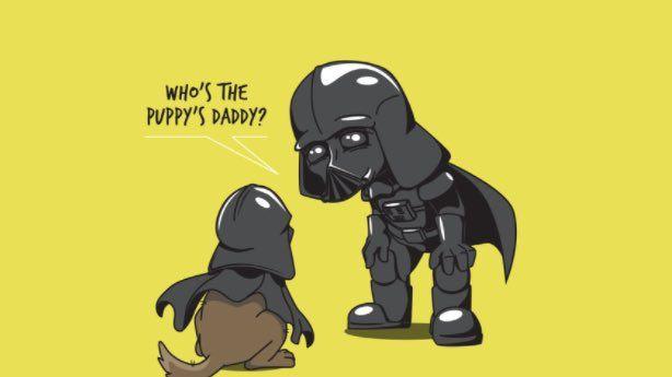 The Dark Side has better treats... #Art #StarWars #BIZBoost