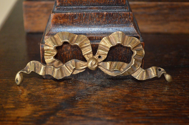 Antique French Ormolu Bronze Bow Hardware Ornate Onlay Decoration by VintageFleaFinds on Etsy