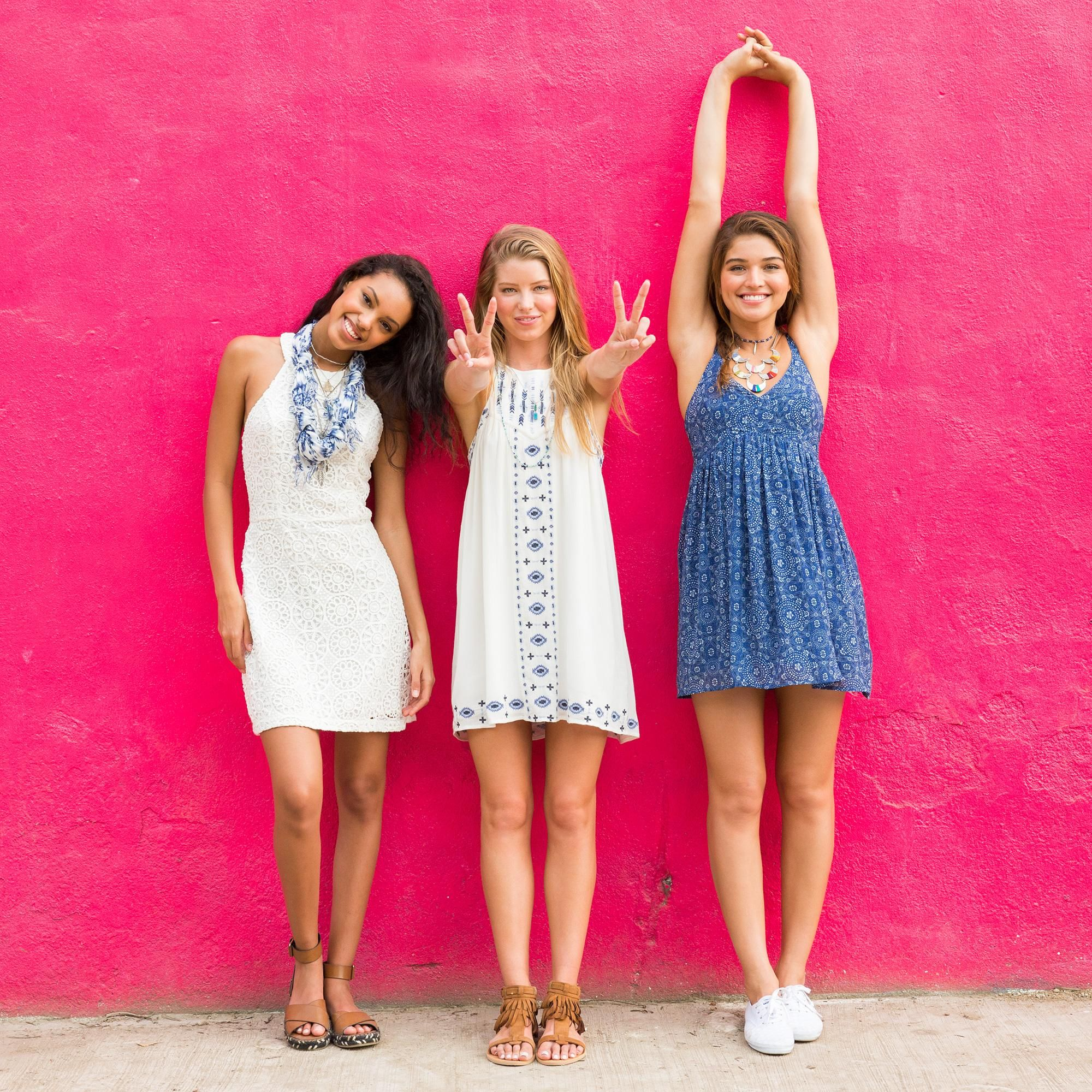 Our dresses: Soft. Sweet. Super cute.