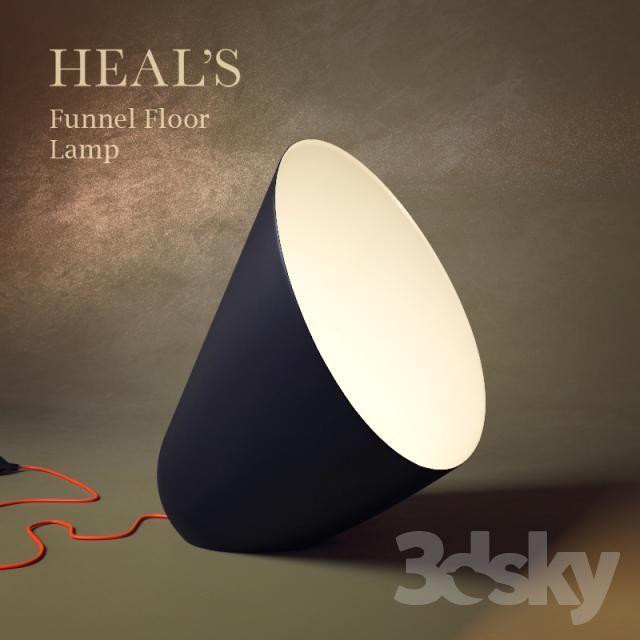 Heals funnel floor lamp int3dmod pinterest floor lamp modern heals funnel floor lamp aloadofball Choice Image