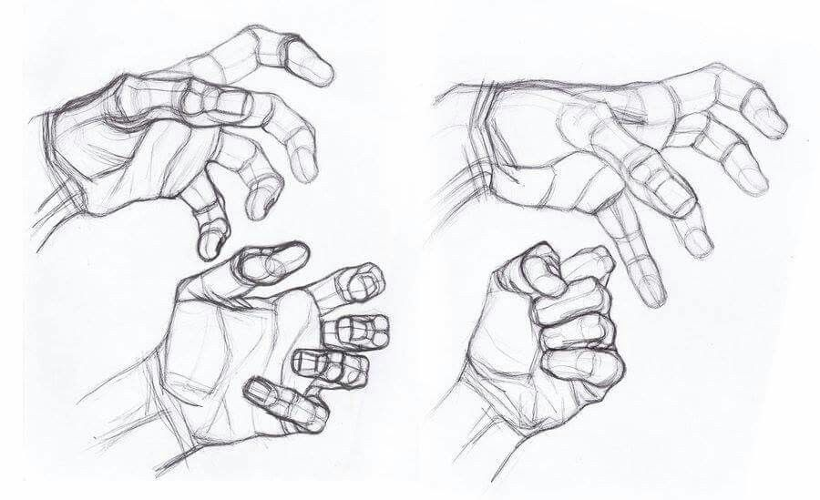 HAND DRAWING by StefanoLanza   Hands tutorial   Pinterest   Hand ...