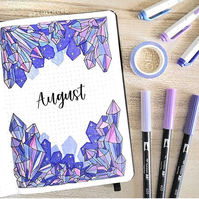 By @plinthced • • • Tag me in photos or DM me to be featured! • • • Follow @all_thingsbujo for daily bullet journal inspiration! Follow @all_thingsartsy for art, bullet journaling and calligraphy! • • • #bujo #bulletjournal #crystalbujo #crystals #purple #purplebujo #minimalbujo #augustbujo #moodtracker #bujomoodtracker #cutebujo #monthlybujo #bujobeauties #bujobeauty #youneedadiary #summerbujo #monthlybulletjournal #purplebulletjournal #doodle #planner #Regram via @B0w7QkMhhZt #augustbulletjournal