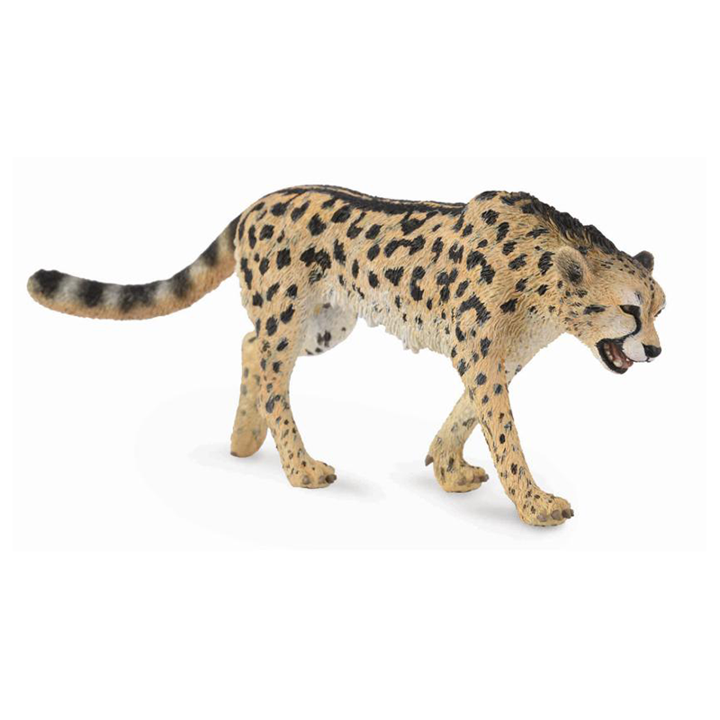 This King Cheetah figure (CollectA 88608) is from the CollectA Wild Life Collection. Approximately 5cm tall and 13cm long.